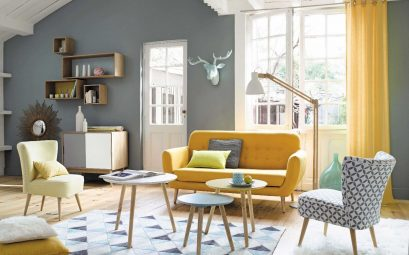 couleur salon scandinave